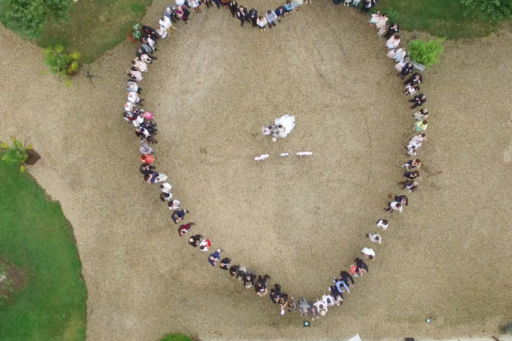 mariage drone photo video