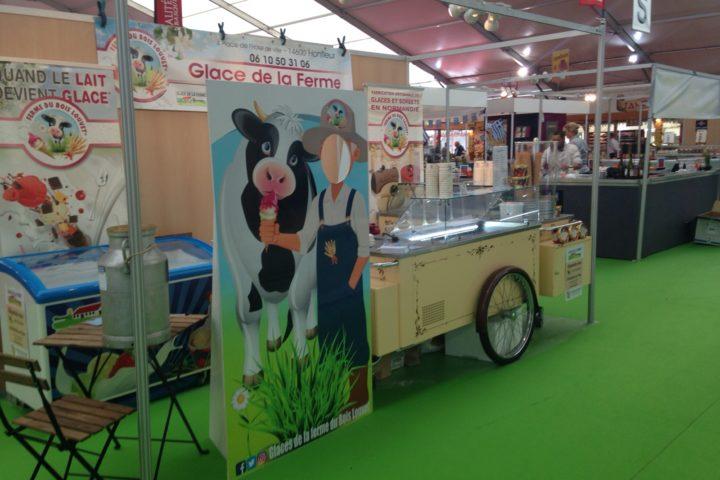 Foire de Caen 2017 stand animation normandie