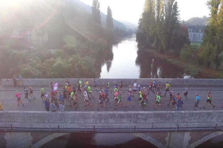 Marathon-Seine-Eure video drone