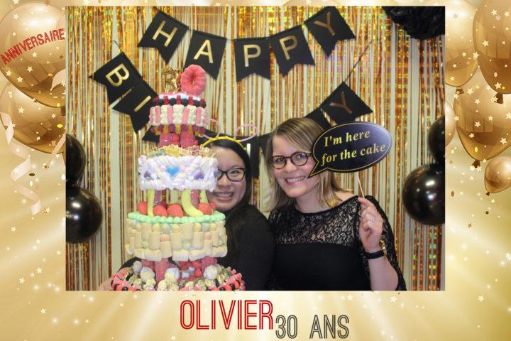 Borne selfie Anniversaire 30 ans Rouen