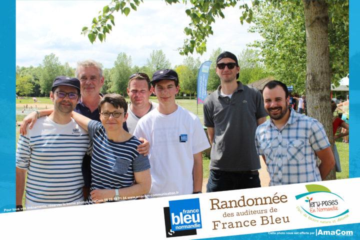Borne à selfie photobooth rando auditeurs france bleu normandie animation léry poses Pont de l'arche louviers eure normandie evreux le neubourg