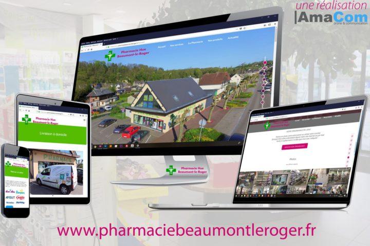 site internet le neubourg eure normandie pharmacie hue beaumont le roger bernay brionne