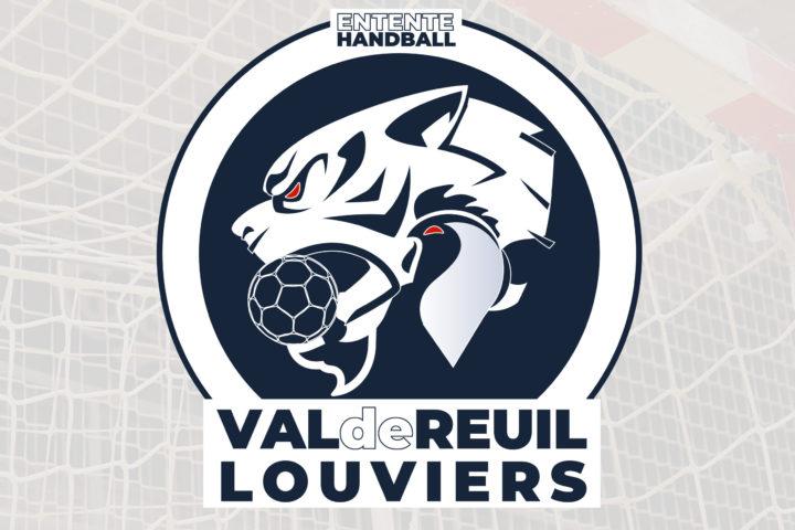Création logo club sport handball val de reuil Louviers eure normandie agence de communication