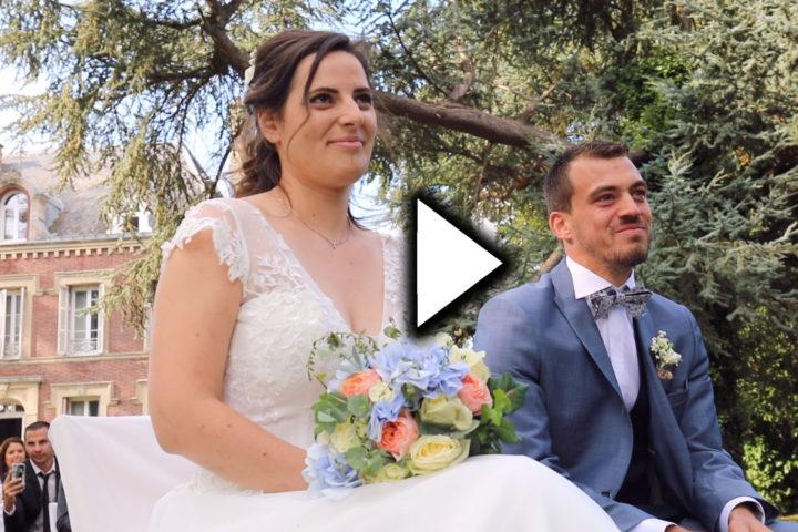 Vidéo mariage wedding film eure normandie drone Le Thil Gisors Les Andelys Le Neubourg