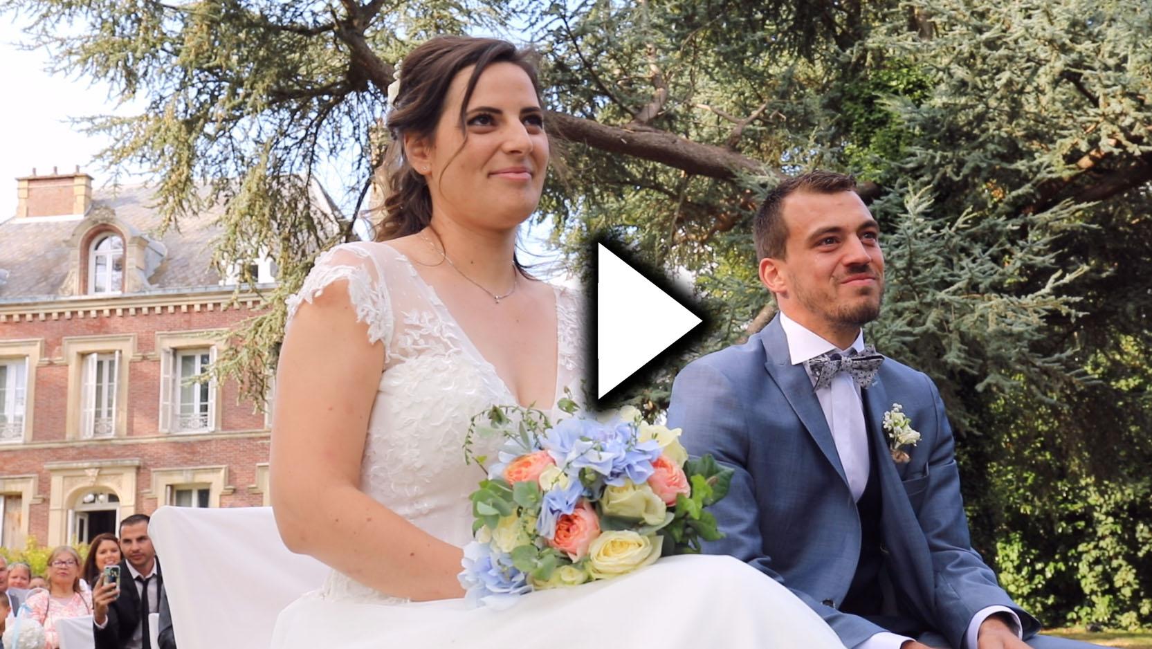 Vidéo mariage – Sandrine & Guillaume – 25/08/2018