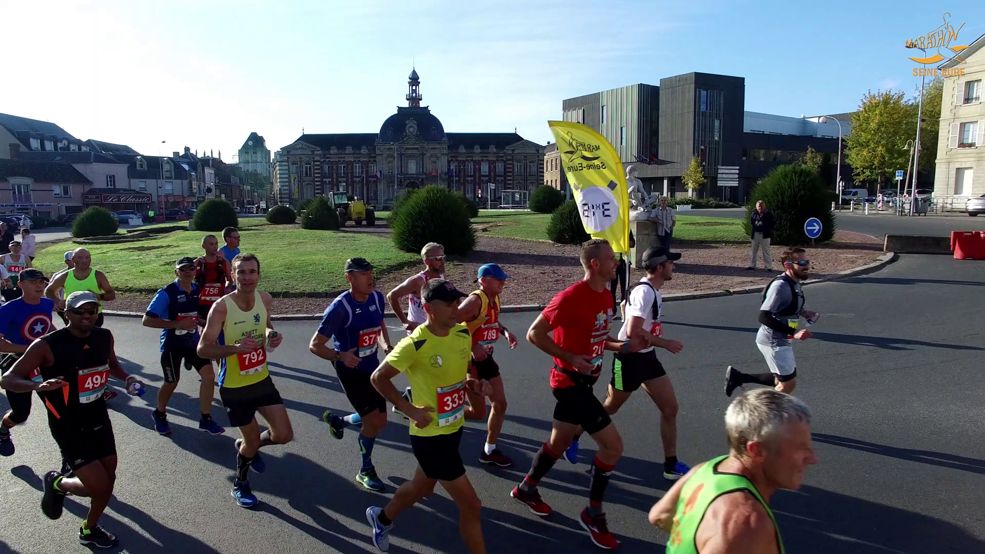 Vidéo – Marathon Seine Eure 2018