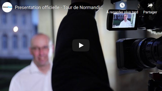 video tour de normandie cycliste caen calvados normandie eure normandie le neubourg