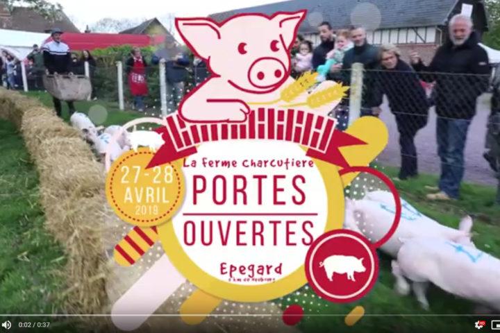 video film entreprise la ferme charcutiere portes ouvertes communication le neubourg eure normandie