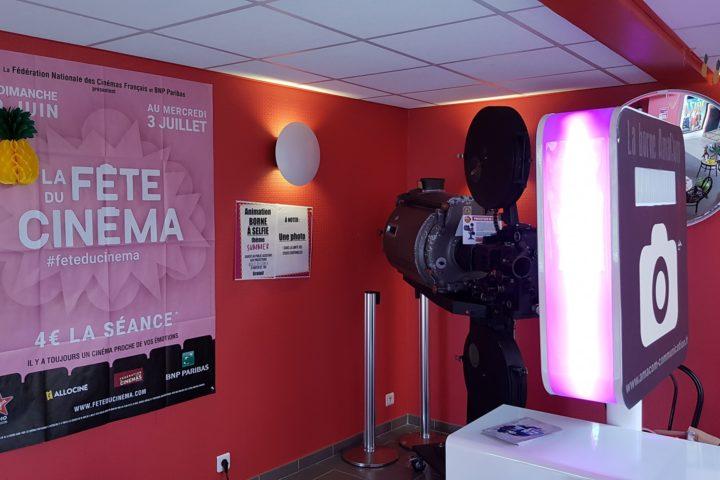 photobooth selfie photo borne le neubourg cinema eure normandie fête mairie collectivité