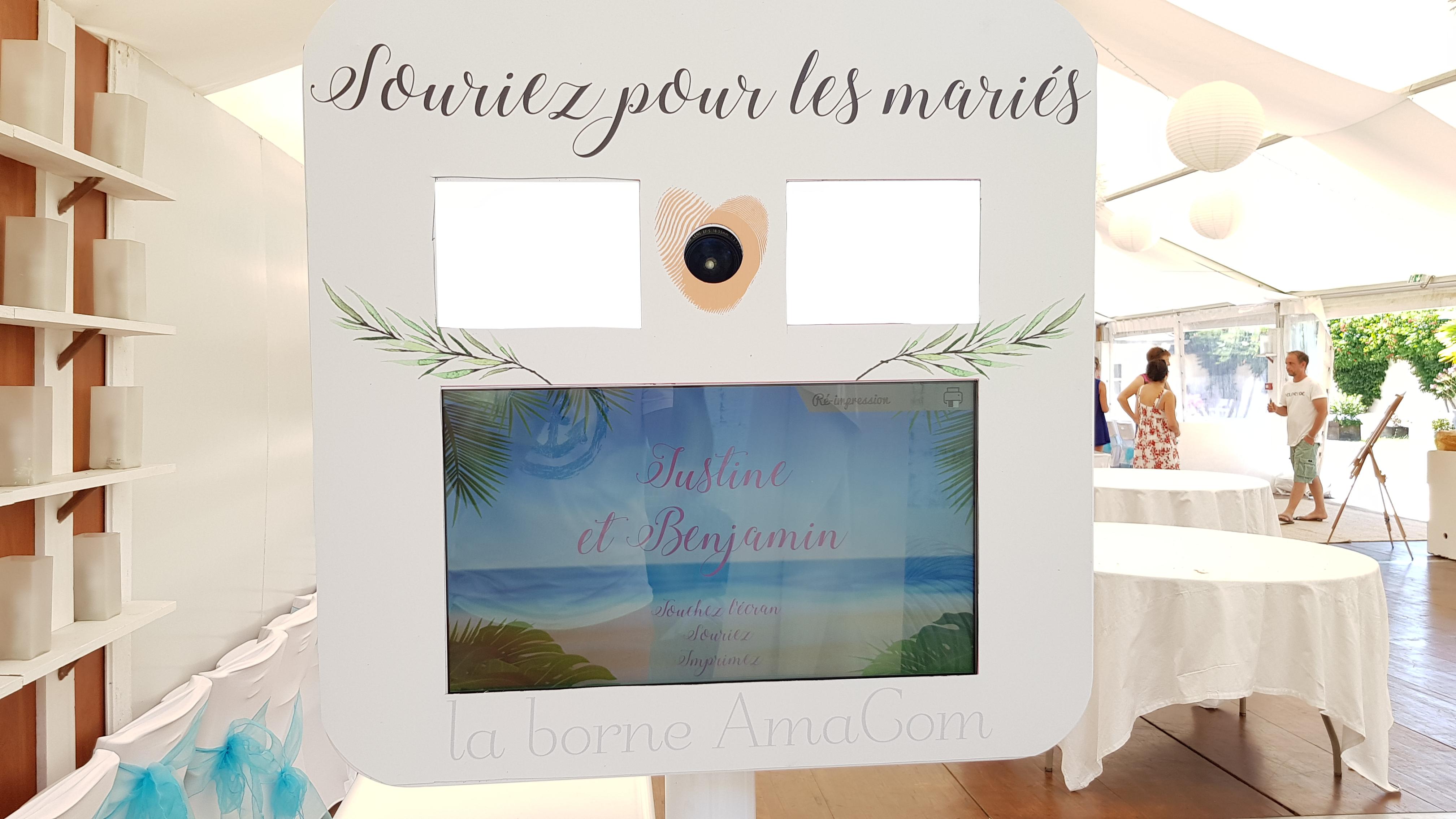 borne mariage photo photobooth eure normandie O Le Manoir du Thil Le Thil Vexin les andelys