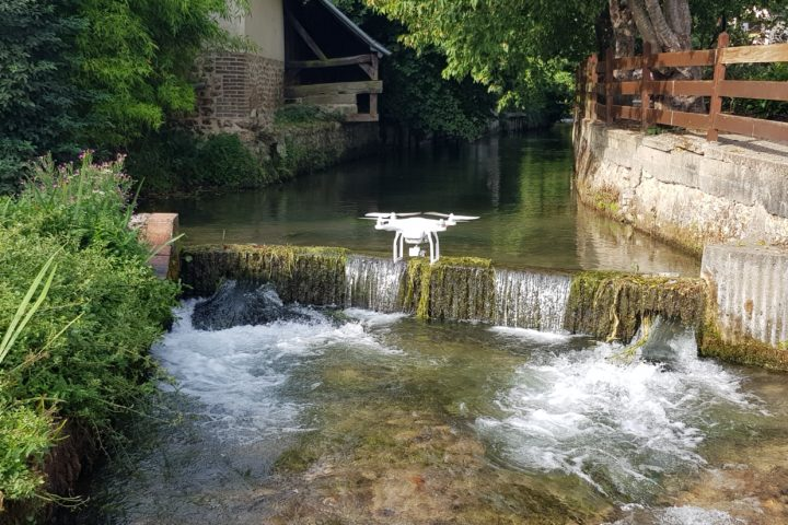 drone bernay video eure normandie patrimoine culturel espaces naturels