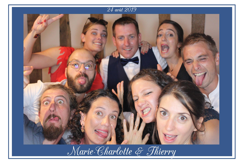 borne selfie photobooth mariage manoir heni iv caugé evreux le neubourg eure normandie