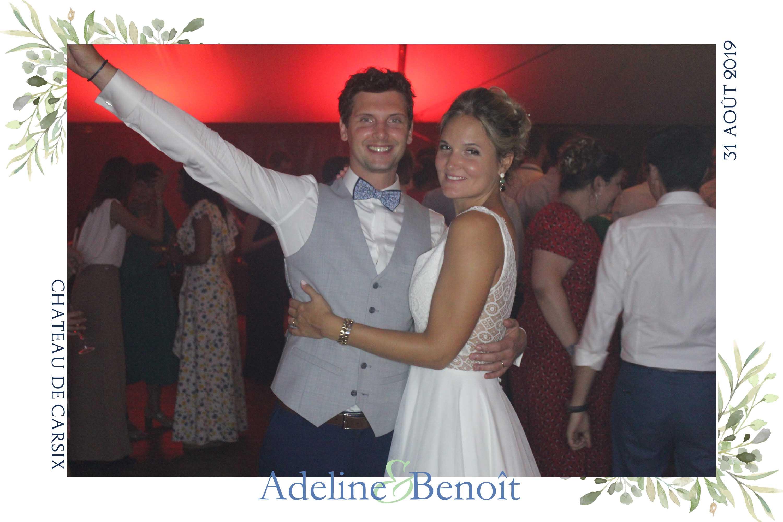 borne selfie photobooth mariage chateau carsix bernay pont-audemer brionne beaumont le roger le neubourg eure normandie