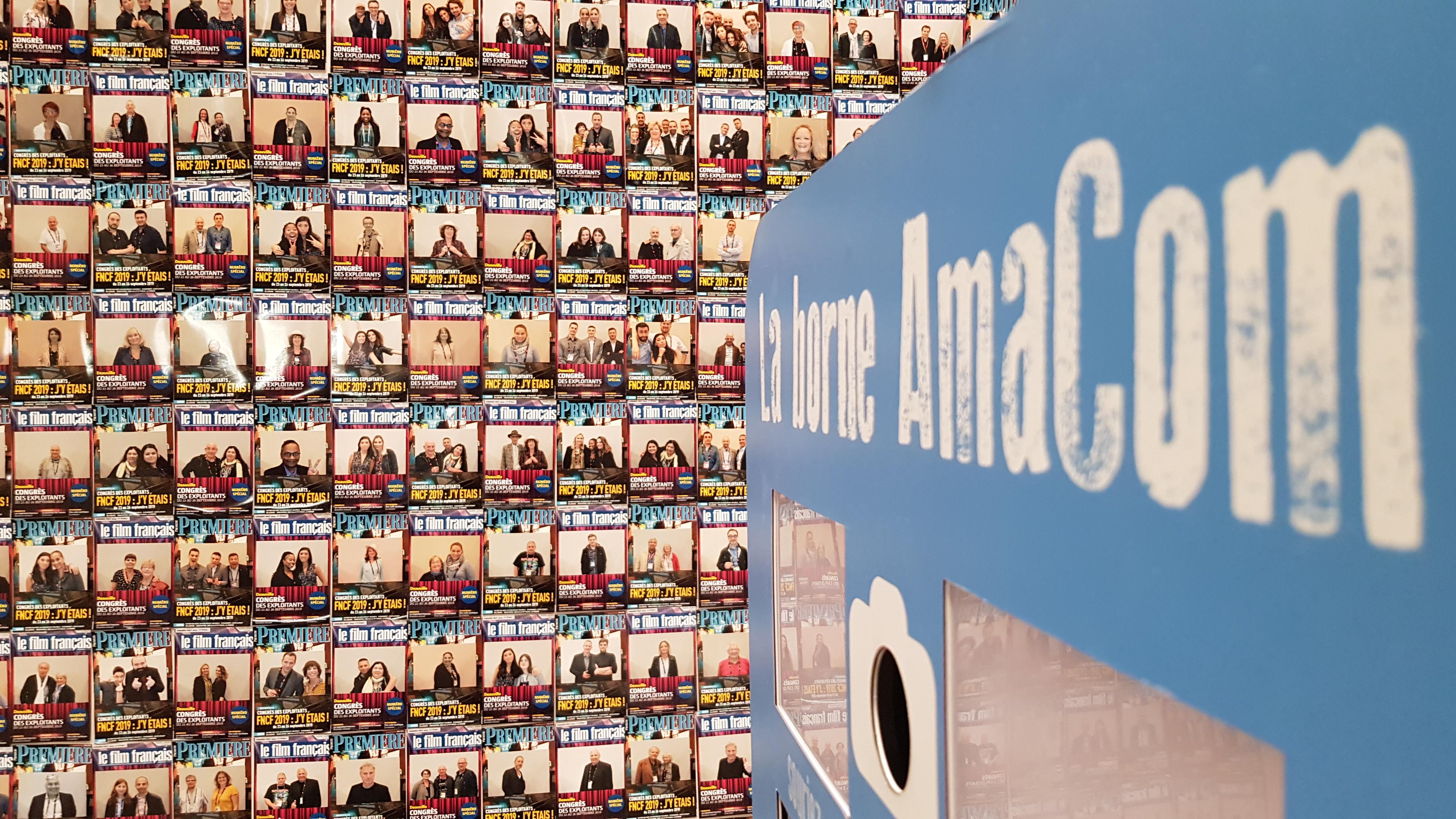 borne à selfie photobooth deauville congres CID Deauville calvados normandie entreprise Le Film Francais Premiere