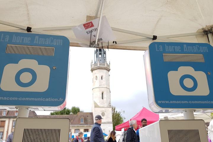 borne photos selfie evreux course à pied running association evenement eure normandie