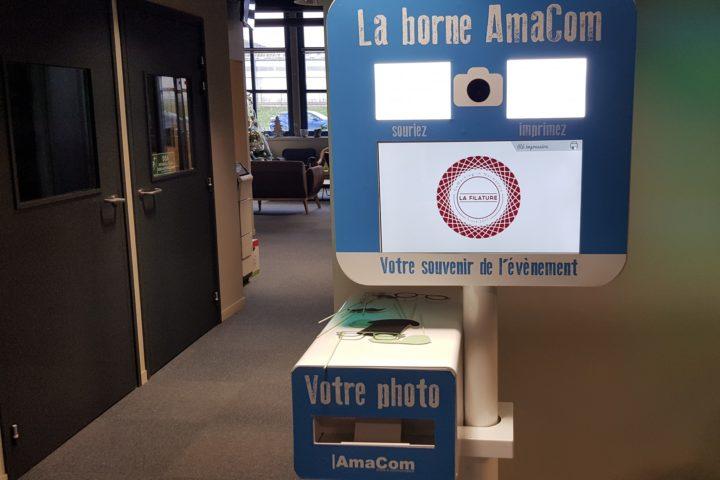 borne photobooth boite selfie louviers entreprise eure normandie