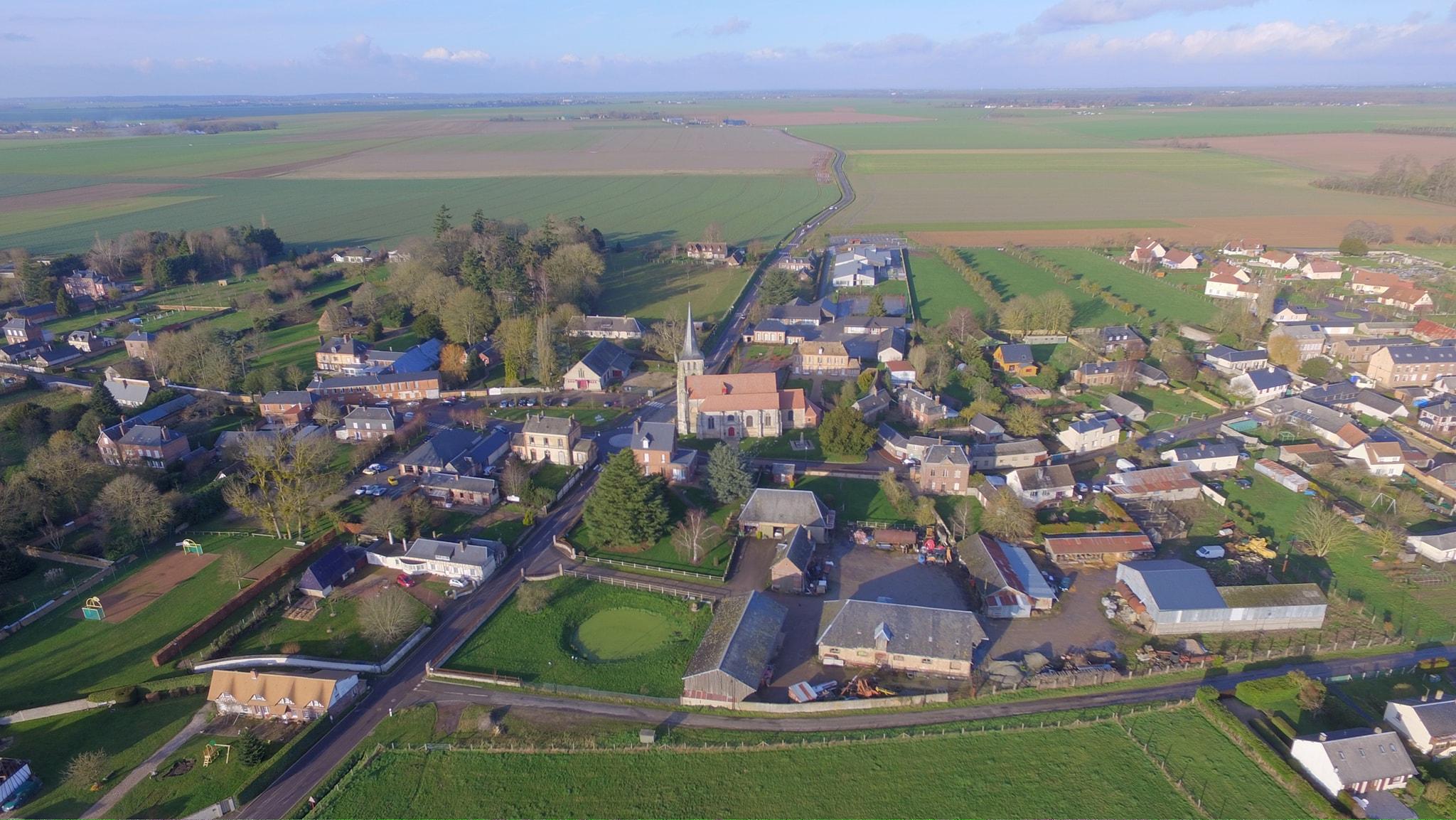 Drone – Village Eure
