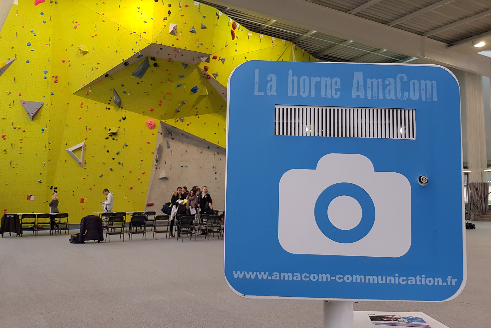 borne selfie borne photo photobooth le neubourg evenement sport eure normandie