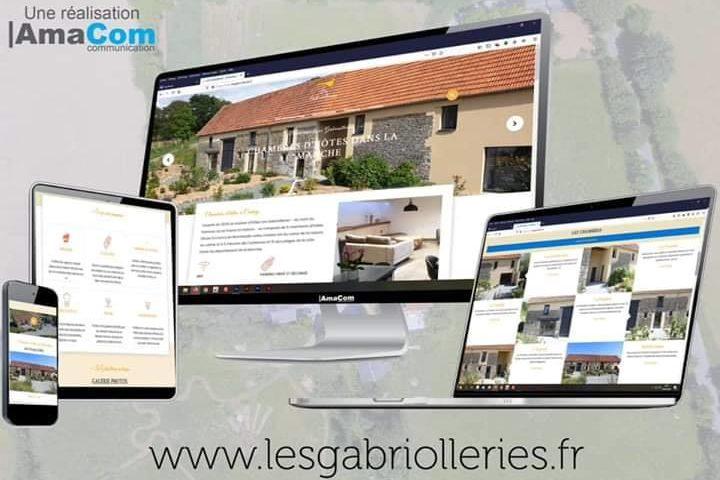 site internet tourisme chambre d'hôtes les gabriolleries courcy coutances manche normandie
