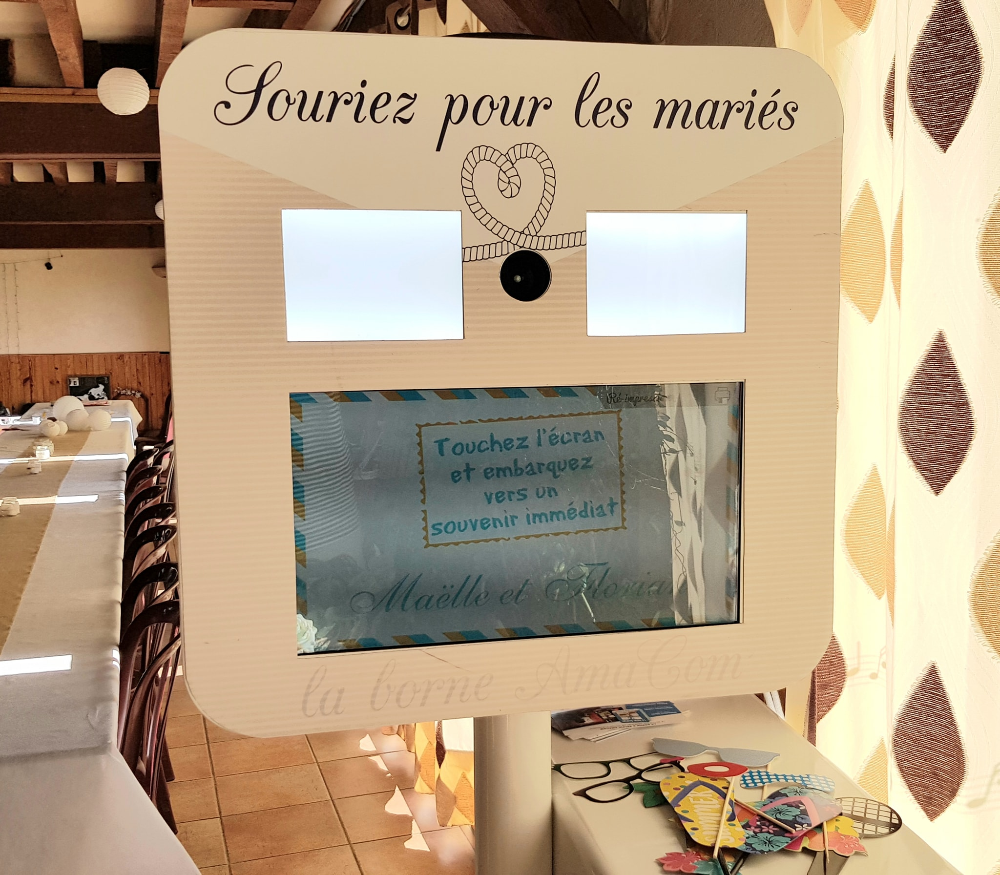 location photobooth borne selfie mariage evenement eure normandie bourgtheroulde elbeuf le neubourg