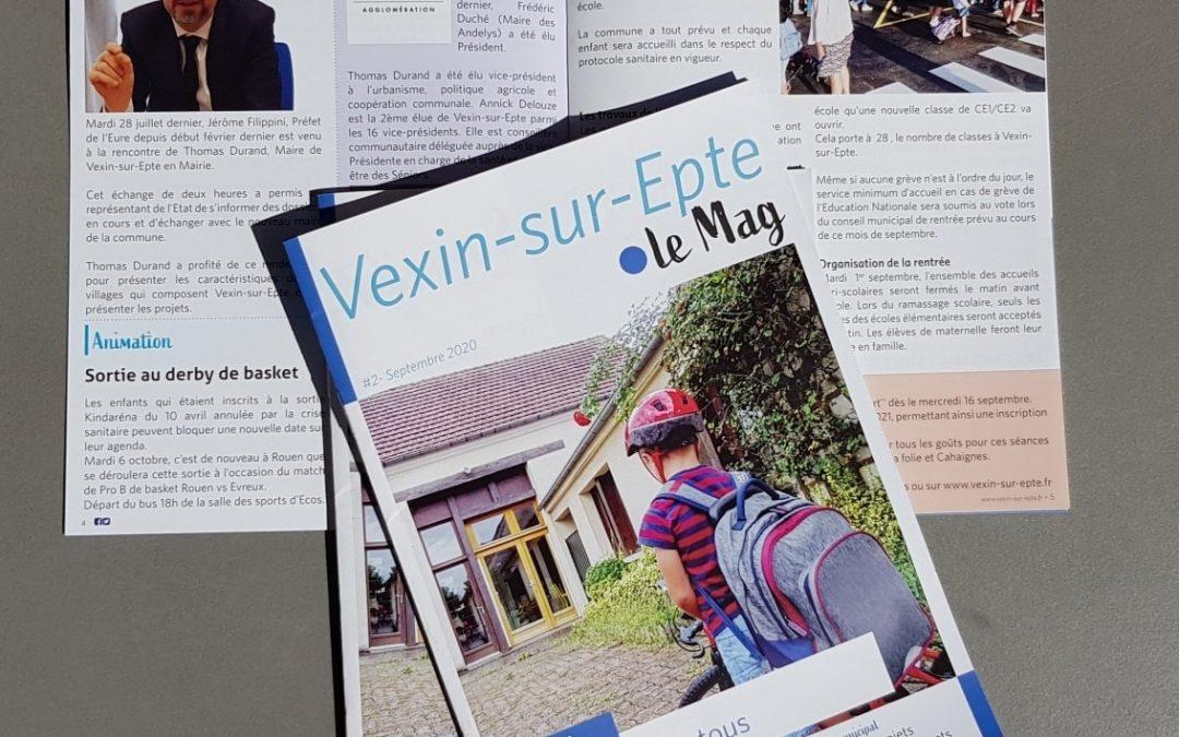 Magazine municipal Vexin-sur-Epte