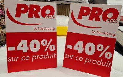 PLV – Pro&Cie Le Neubourg