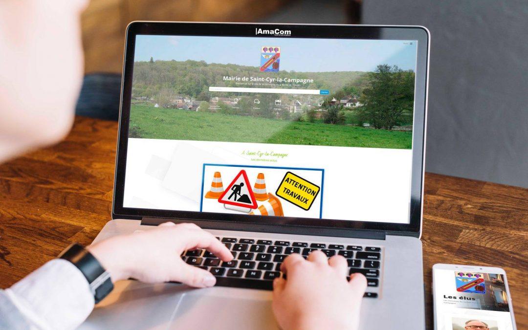 Site internet – Mairie